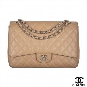 Chanel Maxi Flap Caviar Handbag
